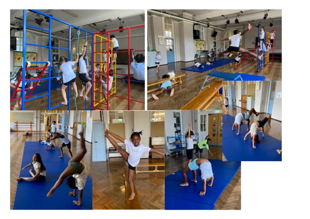 PE in 3C ~ we have some amazing gymnasts!